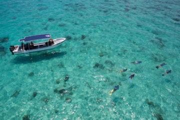 Roatan Wonderland Tours 4 stops tour boat